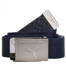 Puma Reversible Web Belt - Peacoat
