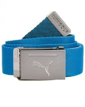 Puma Reversible Web Belt - Blue Azure