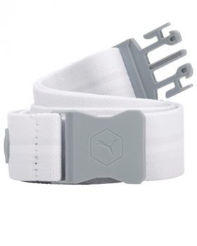 Puma Junior's Ultralite Stretch Belt - Bright White