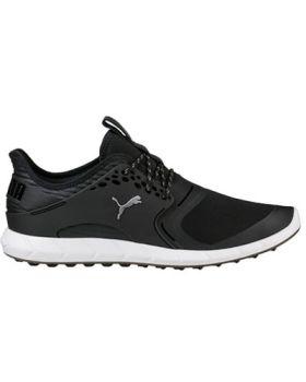 Puma Men's Ignite PWRSPORT Golf Shoes - Black/Silver