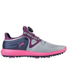 Puma Women's IGNITE Blaze Sport DISC Golf Shoes - Quarry/Knockout