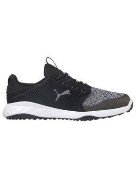 Puma Grip Fusion Sport Golf Shoes - Black/Quiet Shade