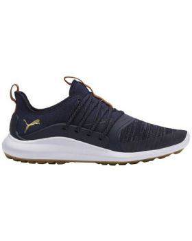 Puma IGNITE NXT Solelace Golf Shoes - Peacoat/Team Gold