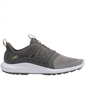 Puma IGNITE NXT Solelace Golf Shoes - Gray Violet/Gold/Quiet Shade