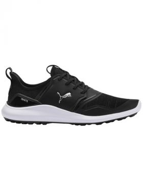 Puma IGNITE NXT Lace Golf Shoes - Black/Silver/White