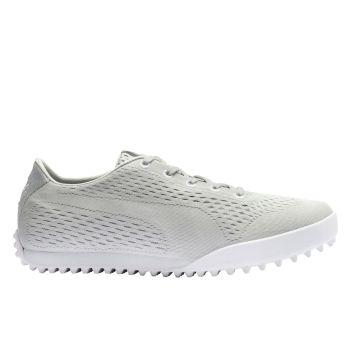 Puma Women's Monolite Cat Em  Golf Shoes - Gray Violet/White