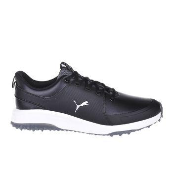 Puma Men's Puma Grip Fusion Pro 3.0 Golf Shoes - Black/Puma Silver