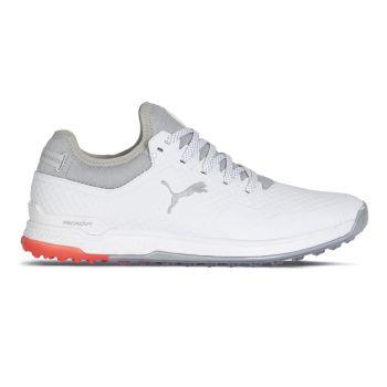 Puma ProAdapt Alphacat Golf Shoes - White/High Rise
