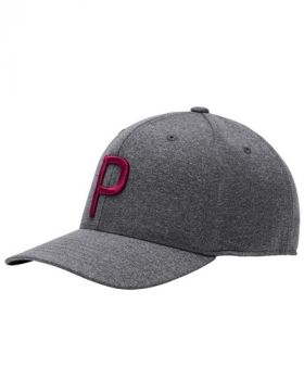 Puma Youth P Snapback Cap - Quite Shade / Rhubarb