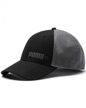 Puma Dot Mesh Stretch Fit Cap - Black