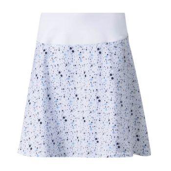 Puma Women's Pwrshape Dot Golf Skirt - Bright White