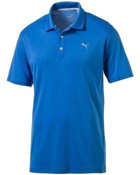 Puma Essential Pounce Golf Polo Shirt - Cresting French Blue