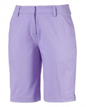 Puma Women's Pounce Bermuda Shorts - Purple Rose