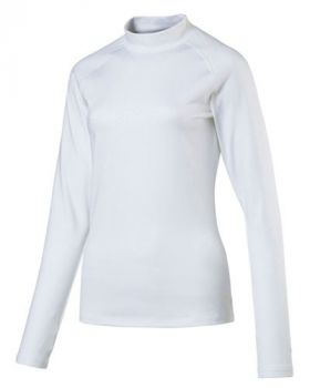 Puma Women's Baselayer Long-Sleeve Golf Top - White