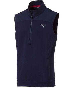 Puma PWRWarm Knit Golf Vest - Peacoat