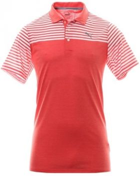 Puma Clubhouse Golf Polo - High Risk Red