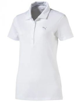 Puma Women's Pounce Polo - Bright White