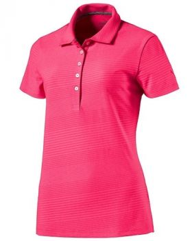 Puma Women's Pounce Aston Polo Shirt - Bright Plasma