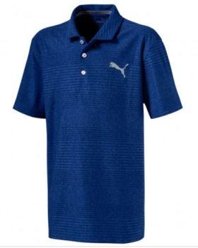 Puma Junior Pounce Aston Polo Shirt - Sodalite Blue