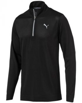 Puma evoKNIT Essential 1/4 Zip Sweater - Black