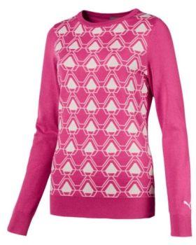 Puma Women's Dassler Sweater - Carmine Rose