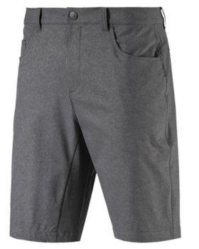 PUMA Jackpot 5 Pocket Heather Golf Shorts - Quiet Shade