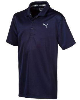PUMA Juniors Essential Golf Polo - Peacoat