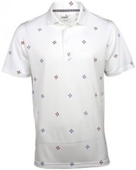 Puma Ditsy Polo - Bright White
