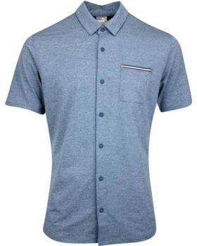 Puma Tradewinds Button Up Shirt - Gibraltar Sea Heather