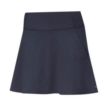 Puma Women's Pwrshape Solid Woven Golf Skirt - Navy Blazer