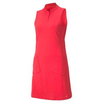 Puma Women's Farley Golf Dress- Teaberry