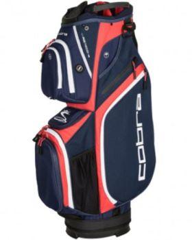 Cobra Ultralight Cart Bag - Peacoat/High Risk Red