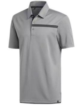 Adidas Adicross Pique Polo Shirt - Grey