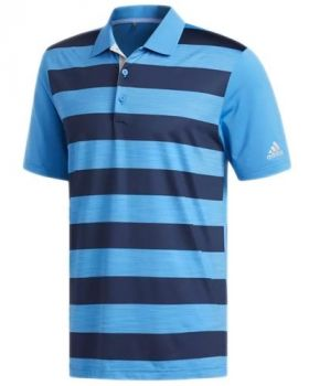 Adidas Ultimate 365 Rugby Polo Shirt - Bright Blue/Collegiate Navy