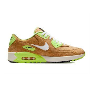 Nike Air Max 90G NRG Golf Shoes - Beechtree/Barely Volt/Black/Sail