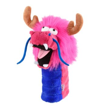 Daphne's Headcover Fitsall - Pink Dragon