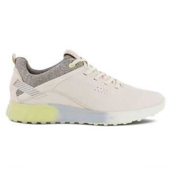Ecco Women's S-three Golf Shoes - Limestone Dritton