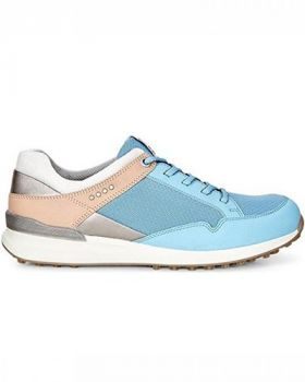 Ecco Women's Speed Hybrid Golf Shoes - Sky Blue/Mineral