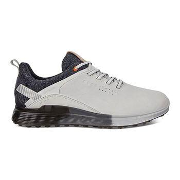 Ecco Men's M Golf S-Three Golf Shoes - White Dritton