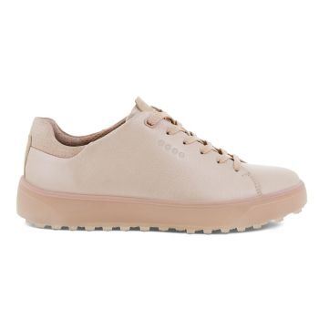 Ecco Women's Tray Laced Golf Shoes - Rose Pearl