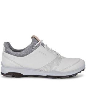 Ecco Women's Biom Hybrid 3 Golf Shoes - White/Black