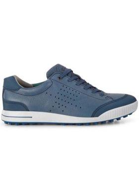 Ecco Men's Street Retro Golf Shoes - Denim Blue