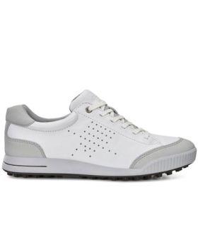Ecco 2018 Street Retro Golf Shoes - White/Concrete