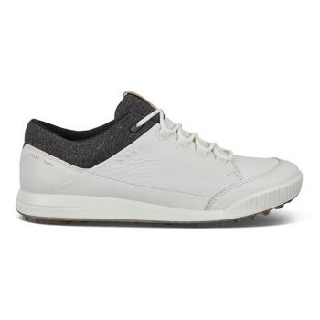Ecco Men's Street Retro Lyra Golf Shoes - Bright White
