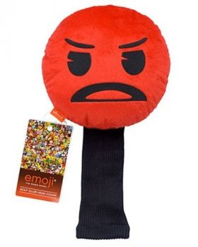 ANGRY EMOJI GOLF HEAD COVER FACE