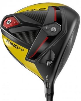 Cobra King F9 10.5* Driver Black Yellow with Stiff Flex Shaft