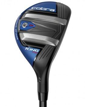 Cobra King F9 One Length 4H* Hybrid Black Blue with Stiff Flex Shaft