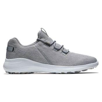 Footjoy Flex Coastal Golf Shoes - Grey/White