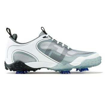 Footjoy Freestyle Golf Shoes - White/Grey/Charcoal
