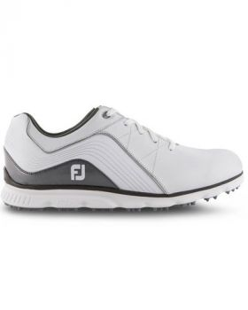 Footjoy 2019 Pro/SL Golf Shoes - White/Silver